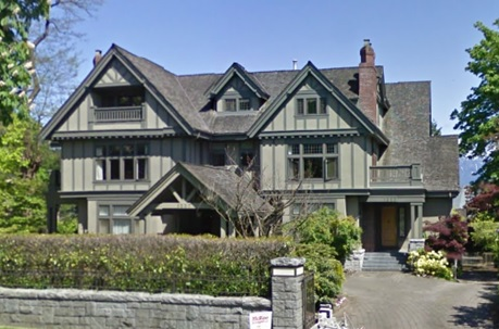 1337 The Crescent, Vancouver; Google Streets: searched March 28, 2017; image dated May 2009.