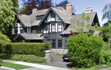 1389 The Crescent, Vancouver; Google Streets: searched March 28, 2017; image dated May 2009.
