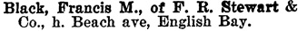 Henderson's BC Gazetteer and Directory, 1900-1901, page 763.