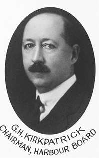 G.H. Kirkpatrick, Chairman, Harbour Board; Vancouver Town Planning Commission, 1926; Vancouver City Archives; LP 290; http://searcharchives.vancouver.ca/vancouver-town-planning-commission-1926-ex-officio-members-and-town-planning-consultants.