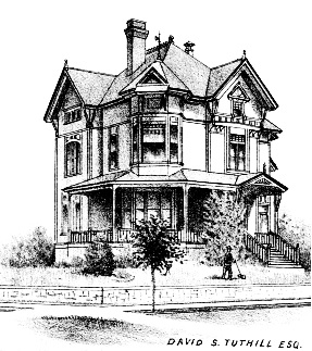 Oregon - Beautiful Homes of Portland - David S. Tuthill Esq., The West Shore, September 1888, following page 514; http://wsldocs.sos.wa.gov/library/docs/HistoricalPublications/WestShore/1888/SL_WestShore_1888_September.pdf#page=62.
