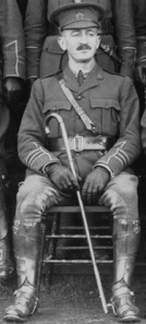 Richard Bell-Irving, detail from Officers of the 29th Battalion C.E.F. on the steps of the Industrial Building at Hastings Park, Vancouver City Archives, AM336-S3-2-: CVA 677-898; http://searcharchives.vancouver.ca/officers-of-29th-battalion-c-e-f-on-steps-of-industrial-building-at-hastings-park