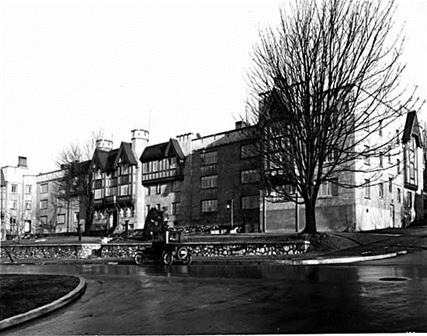 Tudor Manor, 1311 Beach Avenue, 1929, Vancouver Public Library, VPL Accession Number: 11461; http://www3.vpl.ca/spePhotos/LeonardFrankCollection/02DisplayJPGs/2/11461.jpg.