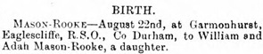 Rhyl Journal, August 29, 1903, page 2, column 6, http://newspapers.library.wales/view/3627517/3627519/19/.