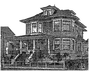 1940 Barclay Street - Vancouver Province - October 21 1905 - page 24 (Residence of J.F. Worley)