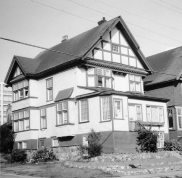 1999 Beach Avenue; A remaining house on Beach Ave., Vancouver; University of Northern British Columbia Archives; Item 2013.6.36.1.072.15; http://search.nbca.unbc.ca/index.php/remaining-house-on-beach-ave-vancouver.