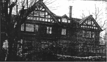 """The former home of Sir Charles Tupper on Barclay Street as it appears today,"" ""West End Memories,"" by Irene Phelan Stephan, Vancouver Sun, March 3, 1945, page 9 (Magazine section)"