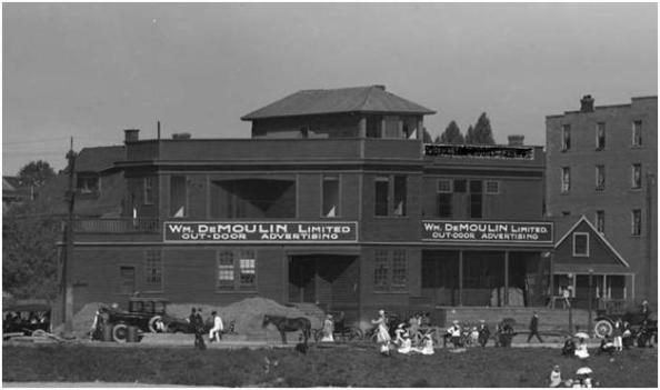Detail from English Bay, Vancouver, B.C.; S. Thomson Photo; AM1535-: CVA 99-5105; 1917