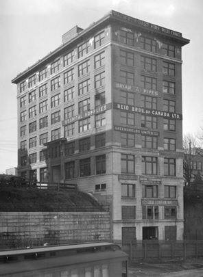 Pacific Coast Fire Insurance Building, 325 Howe Street; 1920, City of Vancouver Archives, CVA 99 – 3307; http://searcharchives.vancouver.ca/pacific-coast-fire-insurance-building-325-howe-street.