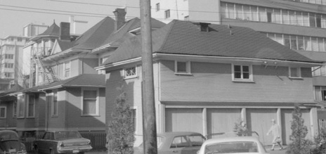 1857 Nelson Street – rear – 1968 – Vancouver City Archives – CVA 1348-17; https://searcharchives.vancouver.ca/1857-nelson-rear.