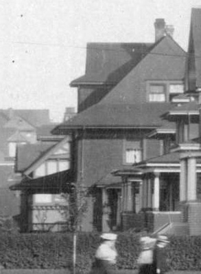 1906 Nelson Street, about 1908, detail from View of the 1900 Block and 2000 Block of Nelson Street, Vancouver City Archives, PAN P103, http://searcharchives.vancouver.ca/view-of-1900-block-and-2000-block-of-nelson-street.