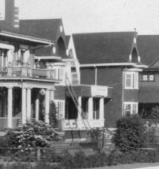 1999 Nelson Street - detail from View of the 1900 Block and 2000 Block of Nelson Street - Vancouver City Archives - PAN P103; http://searcharchives.vancouver.ca/view-of-1900-block-and-2000-block-of-nelson-street