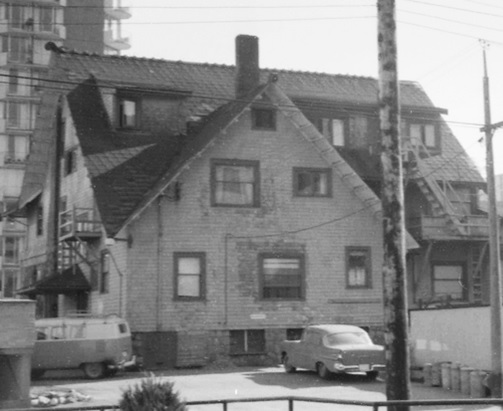 2040 Nelson Street - rear - 1968 - City of Vancouver Archives - detail from CVA 1348-3 - [House at] 2040 Nelson - rear view; http://searcharchives.vancouver.ca/house-at-2040-nelson-rear-view;rad