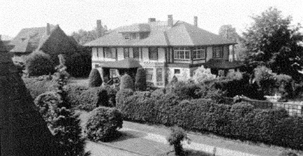 2050 Nelson Street - Argoed - about 1945 - Jonathan Rogers Book of Remembrances