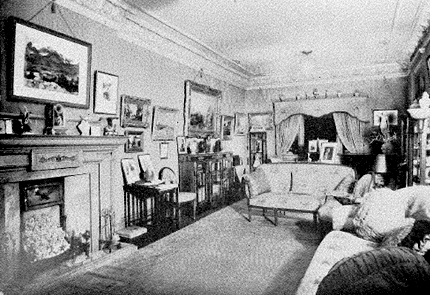 2050 Nelson Street - Argoed - interior - about 1945 - Jonathan Rogers Book of Remembrances