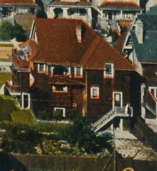 1890 Comox Street - about 1910 - detail from postcard - Gilford Street - Vancouver BC - Valentine and Sons Publishing Co