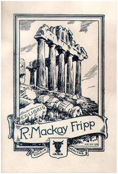 R. Mackay Fripp, bookplate, http://digitalcollections.library.ubc.ca/cdm/ref/collection/bookplate/id/176