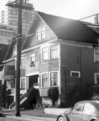 1993 Beach Avenue; August 3, 1967; University of Northern British Columbia; Item 2013.6.36.1.072.16; http://search.nbca.unbc.ca/index.php/surving-houses-on-beach-ave-vancouver