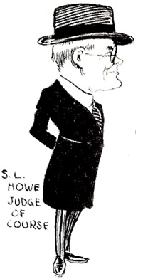 S.L. Howe, Vancouver Rowing Club Cartoon (detail), Ernest LeMessurier, 1921, John Arthur Carver, The Vancouver Rowing Club: A History, 1886-1980, Vancouver, Aubrey F. Roberts Ltd., 1980, plates between pages 32 and 33, plate 12.