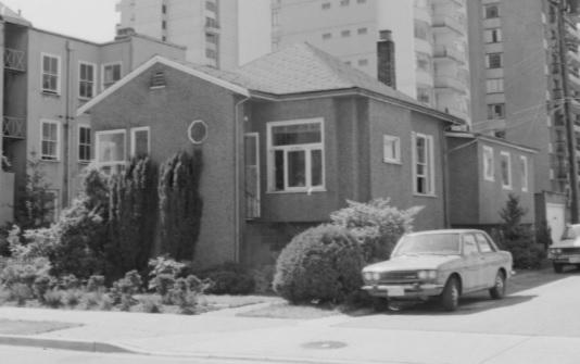 1101 Gilford Street, 1978, Vancouver City Archives; CVA 786-3.20; http://searcharchives.vancouver.ca/1101-gilford-street.