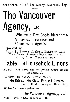Vancouver Agency Ltd - BC Mining Record, Christmas, 1899, The Mining Record, Victoria and Vancouver, BC., Page xviii http://archive.org/stream/indiansofbritish00mackrich#page/n21/mode/2up