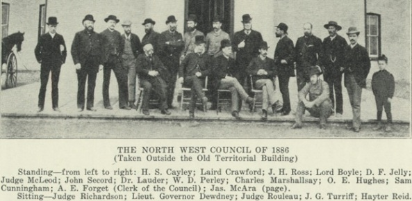 Charles Marshallsay - North West Council 1886 - Saskatchewan and its People 1924 - http://www.rootsweb.ancestry.com/~cansk/SaskatchewanAndItsPeople/VolumeII/northwestcouncil1886.html
