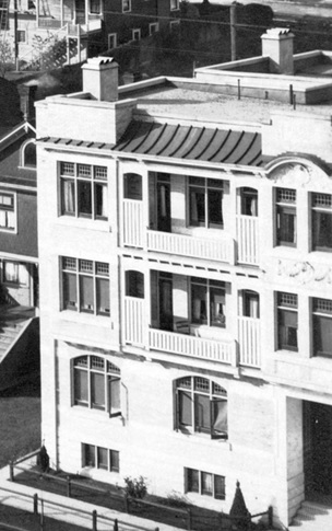1901 Pendrell Street - Detail from City of Vancouver Archives - CVA 371-723 - [Houses on the north side of the 1900 Block of Pendrell Street]; http://searcharchives.vancouver.ca/houses-on-north-side-of-1900-block-of-pendrell-street;rad