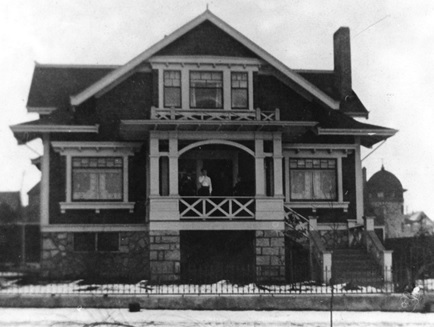 1947 Pendrell Street - City of Vancouver Archives - CVA 677-511 - Morton home [incorrectly listed in City of Vancouver Archives as 1151 Denman Street for many years]; http://searcharchives.vancouver.ca/morton-home-1151-denman-street;rad
