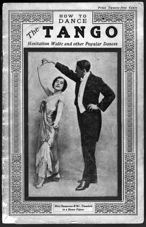 How to Dance the Tango, cover, Vancouver, J. H. Welch, 1914, http://memory.loc.gov/musdi/155/0001.jpg