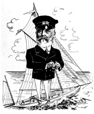 R H Alexander - B C Mills - Timber and Trading Co - Vancouver - British Columbians as we see 'em - 1911; by Newspaper Cartoonists Association of British Columbia in Vancouver, B.C., unpaged, https://archive.org/stream/britishcolumbian00newsrich#page/n84/mode/1up.