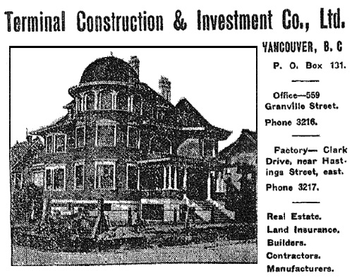 1873 Nelson Street - Vancouver Province - September 21 - 1907 - Land of Opportunity Number - page 73