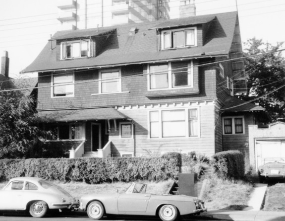 2055 Beach Avenue - 3 Aug. 1967; House, Beach Ave., West End, Vancouver, University of Northern British Columbia Archives; Item 2013.6.36.1.072.13; http://search.nbca.unbc.ca/index.php/house-beach-ave-west-end-vancouver.