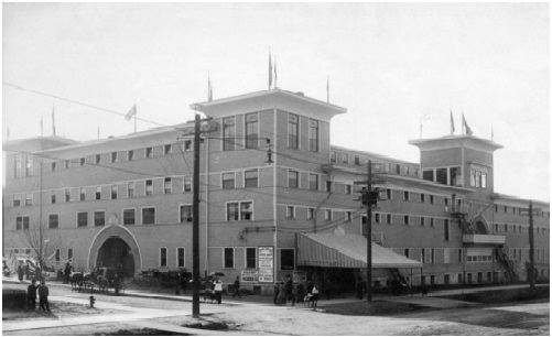 Horse Show Building – 1910 – Later Stanley Park Armouries – http://www.flickr.com/photos/45379817@N08/5249572555/in/photostream/