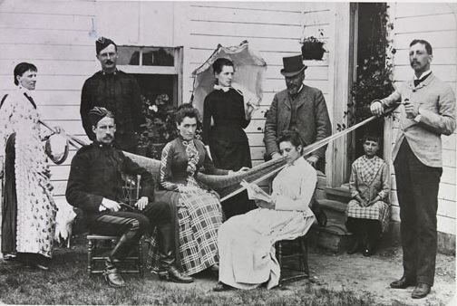 Library and Archives Canada - Domestic life at Fort MacLeod - Alberta - 1899