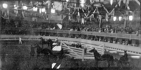 Vancouver Horse Show Building, about 1910; source: family album of Helen G. White (Wilband), courtesy of D. Wilband.