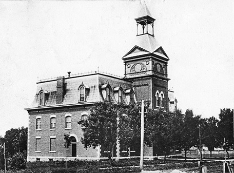 Renfrew Collegiate Institute; 1906 postcard; https://www.flickr.com/photos/25708317@N07/5488543391