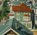 1050 Gilford Street - about 1910 - detail from Gilford Street – Intersections with Comox – Nelson – Barclay – Valentine & Sons' Publishing Co Ltd