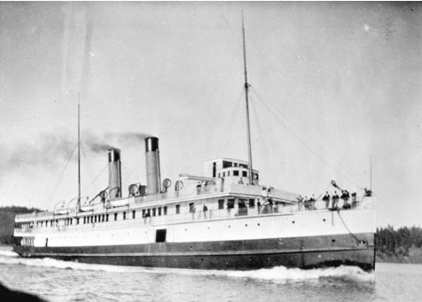 Canadian Pacific Navigation Company ship S S Islander - Vancouver City Archives - Bo N215; http://searcharchives.vancouver.ca/canadian-pacific-navigation-company-ship-s-s-islander;rad