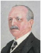 Archer Baker, detail from Wikipedia image - http://commons.wikimedia.org/wiki/File:Archer_Baker_Vanity_Fair_13_January_1910.jpg
