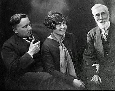 Henry Burnell, Caroline, and possibly Edward Burnell. Courtesy of Henry Orr.