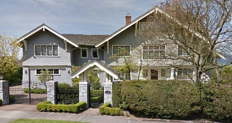 1733 Angus Drive, Vancouver, British Columbia; Google Streets: searched August 10, 2016; image dated May 2014.