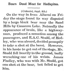 Hedley Gazette, September 14, 1905, page 2; https://open.library.ubc.ca/collections/bcnewspapers/xhedley/items/1.0180317#p1z0r0f:
