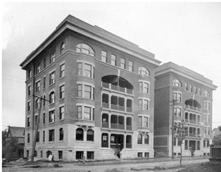 The Beaconsfield Apartments, Vancouver City Archives, M-11-57, http://searcharchives.vancouver.ca/beaconsfiled-apartments;dc