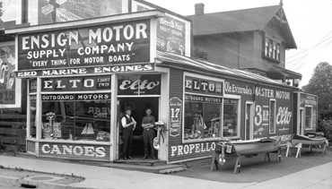 Vancouver City Archives, Str N46.01 - [Ensign Motor Supply Company, 1800 West Georgia St.], about 1926, http://searcharchives.vancouver.ca/ensign-motor-supply-company-1800-west-georgia-st