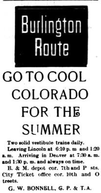 The Courier, Lincoln, Nebraska, September 17, 1898, volume 13, number 8, page 11; http://chroniclingamerica.loc.gov/lccn/sn99066033/1898-09-17/ed-1/seq-11/