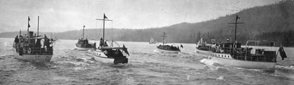 Power boats, detail from Vancouver City Archives, Sp P99.2 - [Power boat race on Burrard Inlet], 1913, http://searcharchives.vancouver.ca/power-boat-race-on-burrard-inlet-2.