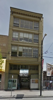 Skinner Block: 319 West Hastings Street, Vancouver, Google Streets; searched November 11, 2014.