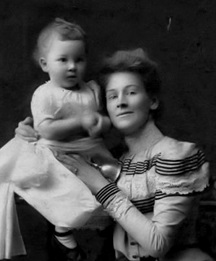Elizabeth Rounsefell and her son Eric; http://image2.findagrave.com/photos/2011/117/69052367_130402219506.jpg