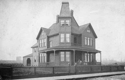 Bu P290 - [Exterior of H.T.Ceperley's residence - 1116 Georgia St.]; about 1888; http://searcharchives.vancouver.ca/exterior-of-h-t-ceperleys-residence-1116-georgia-st