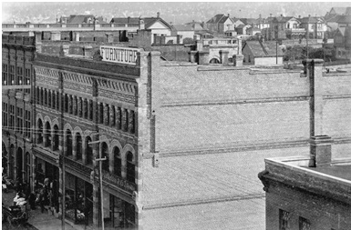 Innes-Thompson Block - 512 West Innes-Thompson Block - 512 West Hastings Street Hastings Street - Looking east along Hastings Street from Richards Street.